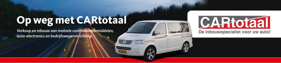 Cartotaal, inbouw en verkoop van mobiele communicatiemiddelen, auto electronics en bedrijfswageninrichting.